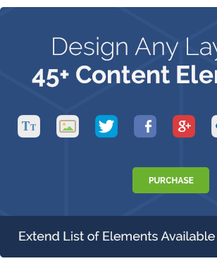 Design Any La,Content ELe ff1 JRC,i Extend List Elements Available