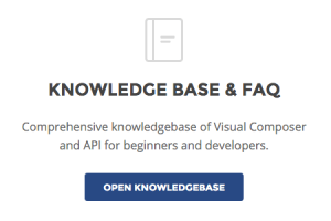 WPBakery Page Builder Knowledge Base and Documentation