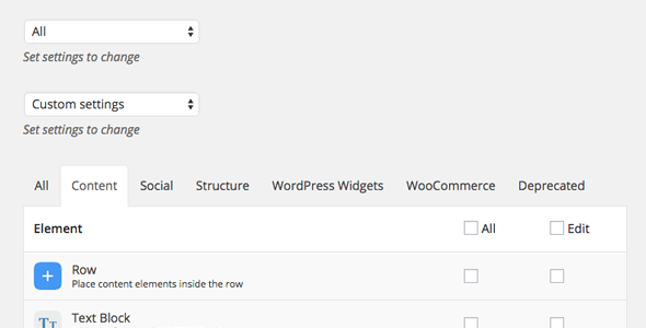 User Role Management in WPBakery Page Builder Page Builder Plugin