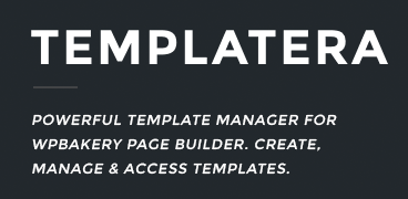 Templatera addon for the WPBakery Page Builder